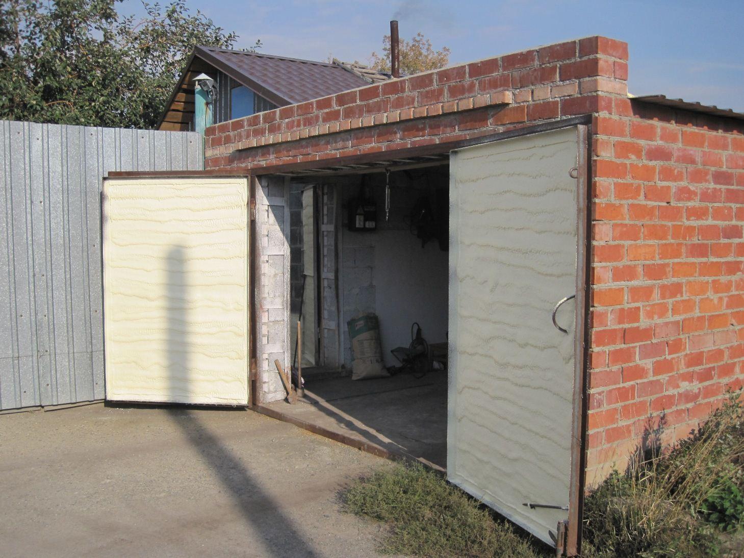Самый недорогой гараж своими руками